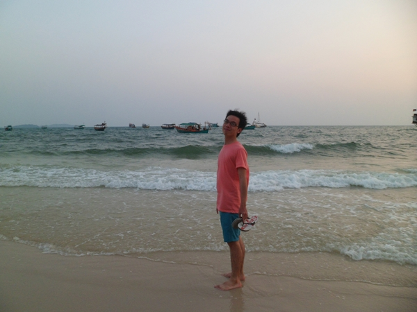At Ochheuteal Beach.