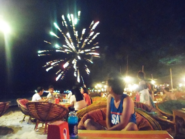 Fireworks are everywhere and every night <3