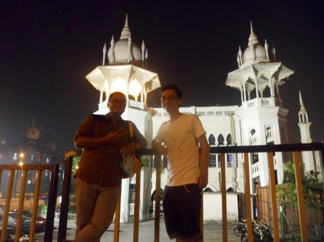 Old Railway Station with Khairul - he's my first Muslim friend :D