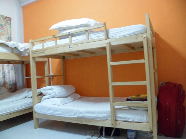 The dormitory is very clean and well-equipped.