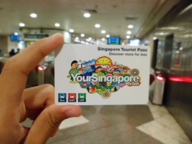The Singapore Tourist Pass - absolutely useful and convenient!